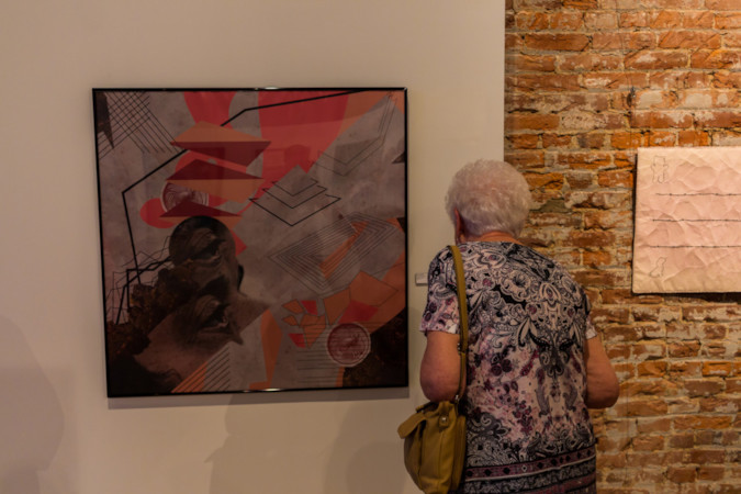 2018 Juried Visual Art Exhibition Opening
