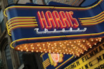 Harris theater after marquee