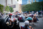 Katz Plaza Crowd