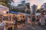 Night Market in Market Square